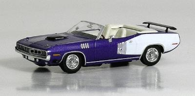 American Automobile - 1971 Plymouth Hemi Cuda Convertible -- Top Down
