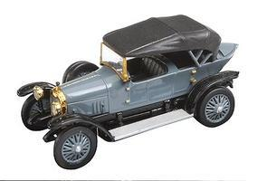 Ricko 1914 Audi Type C Alpensieger Top Up Gray HO Scale Model Railroad Vehicle #38295