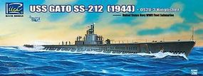 Riich WWII USS Gato SS212 Fleet Submarine 1944 Plastic Model Ship Kit 1/200 Scale #20002