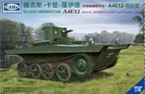 Riich A4E12 VCL Light Amphibious Tank Plastic Model Military Vehicle Kit #35003