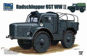 Riich WWII Radschlepper OST Skoda RSO Plastic Model Military Vehicle Kit 1/35 Scale #35005