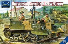 Riich Universal Carrier Mk I with 3 Crew Plastic Model Military Vehicle Kit 1/35 Scale #35011