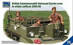 Riich British Commonwealth Universal Carrier Crew in Winter Uniform 1943-45 (3) 1/35 #35028