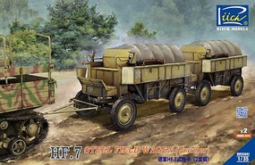 Riich 1/35 HF7 Steel Field Wagon Trailers (2)