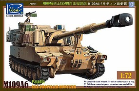 Riich 1/72 M109A6 Paladin Self-Propelled Howitzer (New Tool)