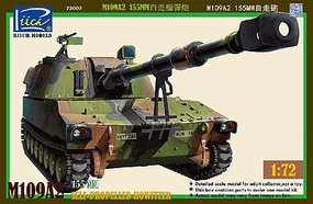 Riich 1/72 M109A2 155mm Self-Propelled Howitzer (New Tool)