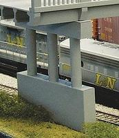 Rix 1930's Highway Pier Model Railroad Bridge HO Scale #100