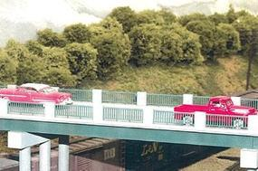 Rix 50 Wrought Iron Highway Overpass Model Railroad Bridge HO Scale #121
