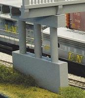 Rix Highway Pier Model Railroad Bridge N Scale #150