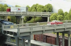 Rix 50 Highway Overpass Model Railroad Bridge N Scale #151