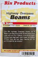 Rix 50 Highway Beams (10) Model Railroad Bridge N Scale #155