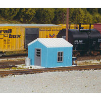 Rix HO KIT RR Yard Office Building
