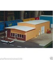 Rix Retail Warehouse Model Railroad Building Kit HO Scale #5410007541-0007