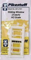 Rix Window Vertical Slide Model Railroad Building Accessory HO Scale #5412101541-2101