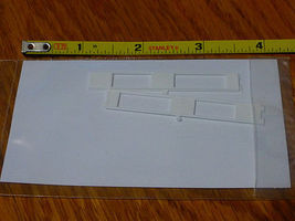 Rix Two Story Window 2 each Model Railroad Building Accessory HO Scale #5412102541-2102