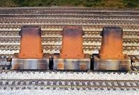 Rix Steel Mill Ingot Buggies w/Wheels & Ingot Molds Model Train Freight Car HO Scale #601