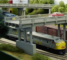 Rix N 50' Early Highway Overpass w/1 Pier