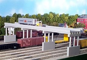 Rix Modern Highway Overpass with 4 Piers Model Railroad Bridge N Scale #6280163628-0163