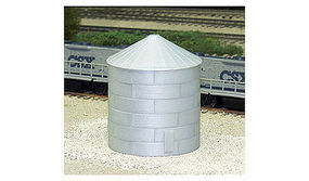 Rix Corrugated Grain Bin 30 Model Railroad Building N Scale #6280703628-0703