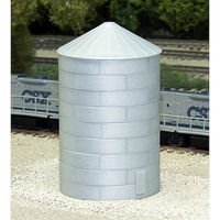Rix Corrugated Grain Bin 40 Model Railroad Building N Scale #6280704628-0704