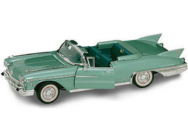 Road-Legends 1958 Cadillac Eldorado Biarritz Convertible (Met. Green) Diecast Model Car 1/18 #2158grn