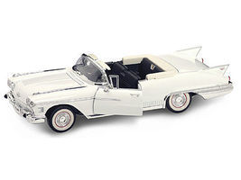 Road-Legends 1958 Cadillac Eldorado Biarritz Convertible (White) Diecast Model Car 1/18 scale #2158wht