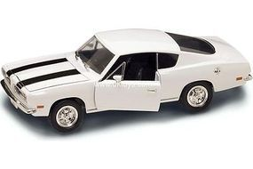 Road-Legends 1969 Plymouth Barracuda (Green) Diecast Model Car 1/18 scale #2179grn