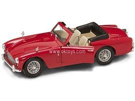 Road-Legends 1958 Aston Martin DB2/4 Mark III Convertible (Red) Diecast Model Car 1/18 Scale #2788red