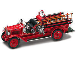 Road-Legends 1923 Maxim C1 H.F.D. Fire Engine Truck Diecast Model Truck 1/43 Scale #43002