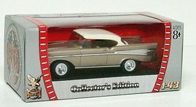 Road-Legends 1957 Chevy Bel Air Diecast Model Car 1/43 Scale #94201