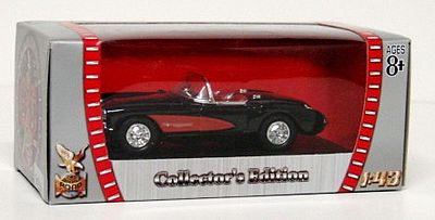 Road-Legends 1957 Corvette Convertible Diecast Model Car 1/43 Scale #94209