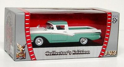 Road Legends 1957 Ford Ranchero Pickup Truck -- Diecast Model Truck -- 1/43 Scale -- #94215