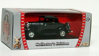 Road Legends 1932 Ford 3-Window Coupe -- Diecast Model Car -- 1/43 Scale -- #94231