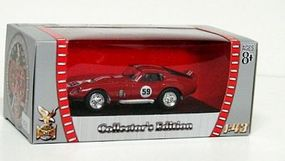Road-Legends 1965 Shelby Cobra Daytona Coupe #54 Race Car Diecast Model Car 1/43 Scale #94242