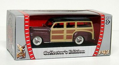 Road Legends 1948 Ford Woody -- Diecast Model Car -- 1/43 Scale -- #94251