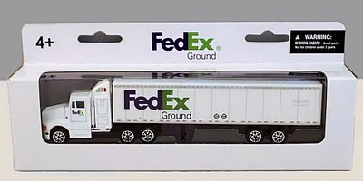Realtoy International 1/87 FedEx Tractor Trailer (Die Cast)