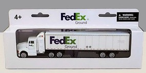 Realtoy 1/87 FedEx Tractor Trailer (Die Cast)