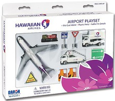 Realtoy Hawaiian Airlines Die Cast Playset (12pc Set)