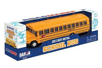 Realtoy Yellow School Bus (7.5L) (Die Cast)