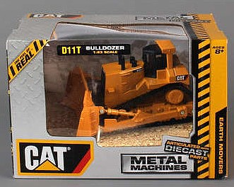 Realtoy International 1/63 Caterpillar D11T Bulldozer (Die Cast)