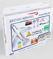 Realtoy British Airways Die Cast Playset (12pc Set)