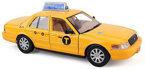 Realtoy 1/24 New York City Taxi (9) (Die Cast)