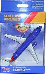 Realtoy International Southwest Airlines (5'' Wingspan) (Die Cast)