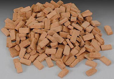 Royal-Model 1/35 Red Bricks (Plaster)