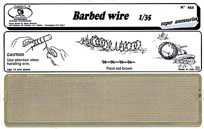 Royal-Model 1/35 Brass Barbed Wire (Photo-Etch)