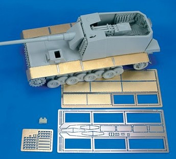 Royal-Model 1/35 Sturer Emil Fenders for TSM (Photo-Etch & Resin)