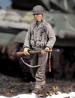 Royal-Model 1/35 WWII US Infantry Rifleman w/Rifle (Resin)
