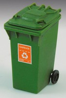 Royal-Model 1/35 Garbage Bin w/Wheels (Resin)
