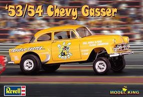 Revell-Monogram 1953/54 Chevy Gasser Bad Nooze Drag Car Plastic Model Car Kit 1/25 Scale #2084
