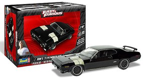 Revell-Monogram 1/24 Fast & Furious Dom's 1971 Plymouth GTX (2 in 1) (New Tool)